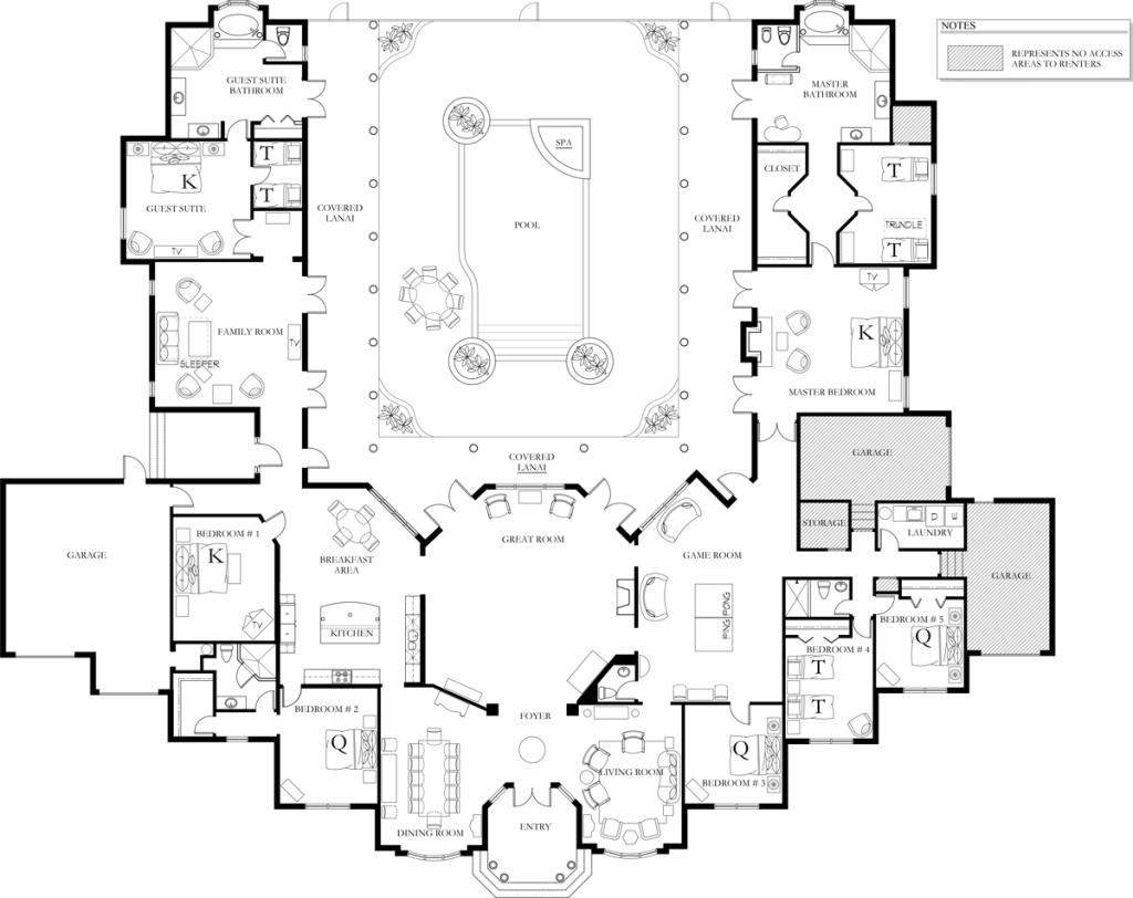 Floorplan Furniture